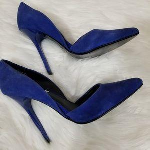 Steve Madden Varcityy Blue High Heels Pointed Toe